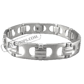 Stainless Steel Bracelet with Box Clasp (13mm)