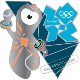 London 2012 Mascot Wenlock Pin