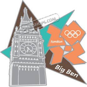 London 2012 Big Ben Pin