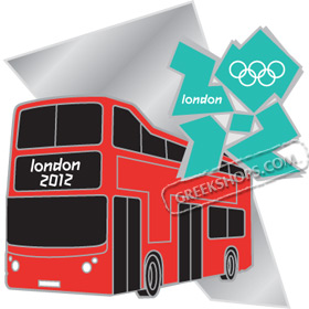 London 2012 Double Decker Bus Pin