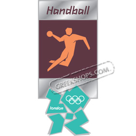 London 2012 Handball Pictogram Pin