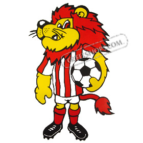Greek Sports Team Olympiakos Mascot Lion Tshirt