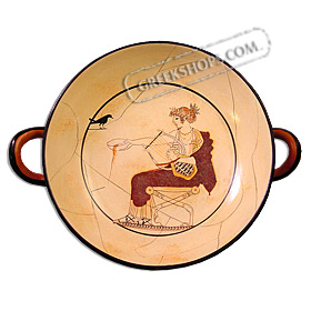 Apollo Kylix (wine cup) 20cm (7.9 in)