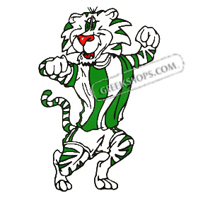 Greek Sports Team Panathinaikos Mascot Tiger Sweatshirt
