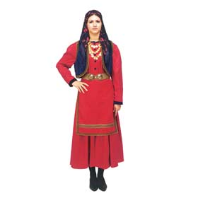 Vlach Costume for Women Style 641012