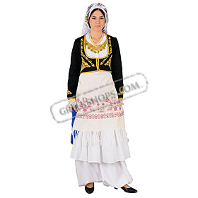 Crete Anogia Costume for Women Style 641171