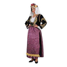 Corfu Purple Costume for Women Style 641219*