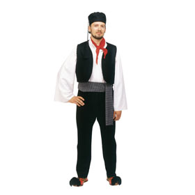 Vlachos Men's Greek Costume 642019
