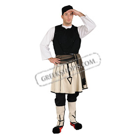 Sarakatsanos Costume for Boys ages 6-14 Style 239108
