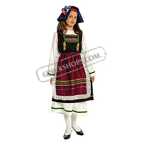 Thrace Costume for Girls Size 8-16 Style 643057