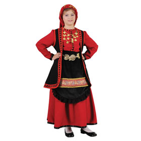 Vlaha Costume for Girls Size 8-16 Style 643115*