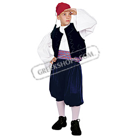 Miaoulis Costume for Boys Size 6-14 Style 644047