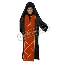 Palaion Patron Germanos Costume for Boys Style 644068