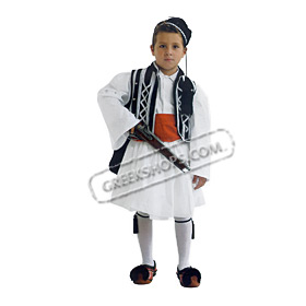 Tsolias Traditional Greek Costume for Boys Size 8-16 Style 644607