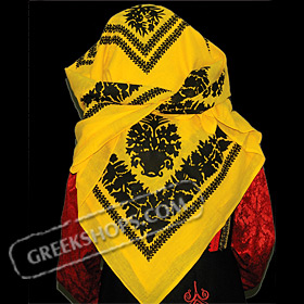 Traditional Head Scarf Style 647505