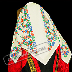 Traditional Head Scarf Style 647506