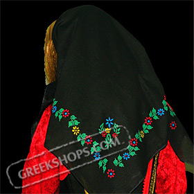 Traditional Head Scarf Style 647509