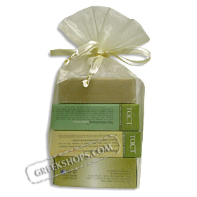 Greek Pure Olive Oil Soap Gift Package (4 bars)