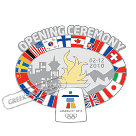 LIMITED EDITION Vancouver 2010 Opening Ceremony Pin