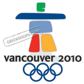 LIMITED EDITION Vancouver 2010 Logo Oversized Pin