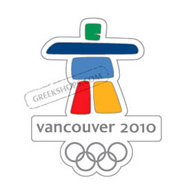 Vancouver 2010 Cut-Out Logo Pin