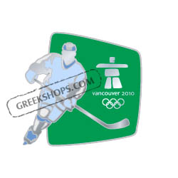 Vancouver 2010 Silhouette Hockey Pin