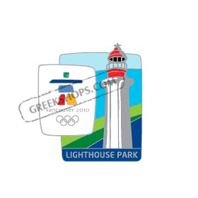 Vancouver 2010 Lighthouse Park Landmark Pin