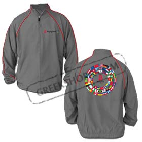 Beijing 2008 Microfiber Jacket on Clearance Sale 30% off