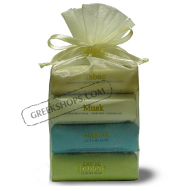 Greek Aromatic Soap Gift Package (4 bars)