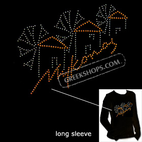 Metal Studded Long Sleeve Shirt - Mykonos Style T5675
