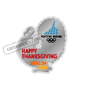 Torino 2006 Happy Thanksgiving 2005 Pin