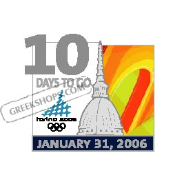 Torino 2006 10 Days To Go Pin