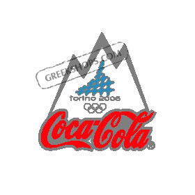 Torino 2006 Coca Cola Snow Mountain Pin