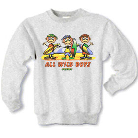 Children's All Wild Boys Sweatshirt Style D591
