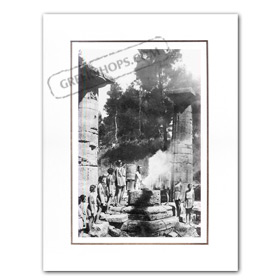 Vintage Greek City Photos Peloponnese - Helia, Olympia, Olympic Flame Lighting ceremony (1936)