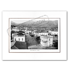 Vintage Greek City Photos Peloponnese - Messinia, Kalamata, Polis (1928)