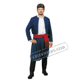 [Code  ST217402] Crete Man Costume Style 217402  sc 1 st  GreekShops.com & GreekShops.com : Greek Products : Traditional Greek Costumes for ...