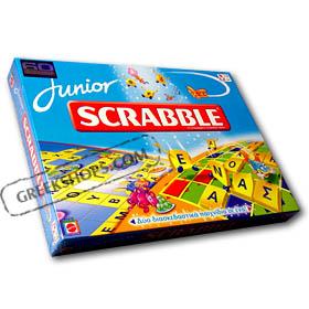 GreekShops.com : Greek Products : Games & Toys : Junior Scrabble ...
