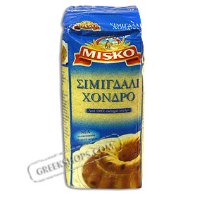 Misko Coarse (Thick) Semolina from Greece