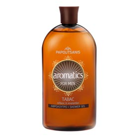 Papoutsanis Shower Gel for Men, Tabac Scent