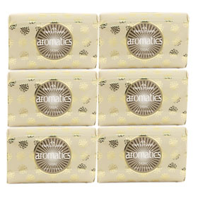 Papoutsanis Luxury Greek Soap Tabac, 6 pack