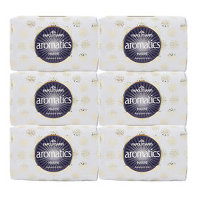 Papoutsanis Luxury Greek Soap Marine, 6 pack
