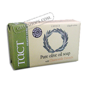 Tact Pure Olive Oil Soap with Chamomile Extract (4.41oz)