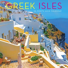 Greek Isles 2016 16-mo Wall Calendar
