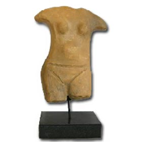 Neolithic Standing Female Figurine 15cm (2.75 in)