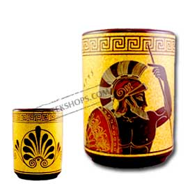 Aris (or Ares) Geometric Wine Cup 9.5cm