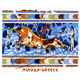 Ancient Greece Minoan Greece Sweatshirt 39