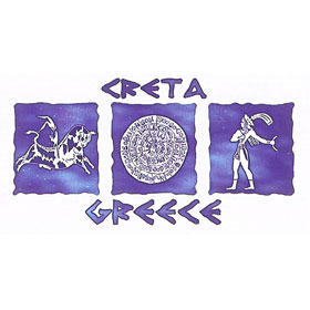 Ancient Greece Crete Tshirt Style D142