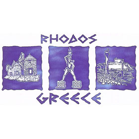 Ancient Greece Rhodes Tshirt Style 92_2006