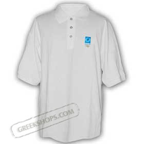 Athens 2004 White Polo shirt -  SALE!